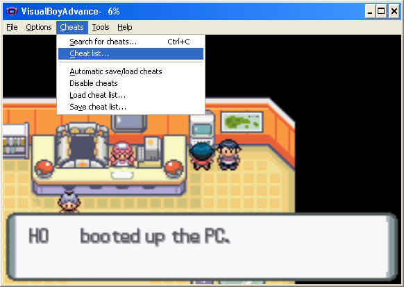 visualboyadvance pokemon