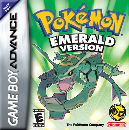 Pokemon Emerald Box Art