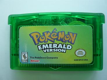 Pokemon Emerald Game Save Files